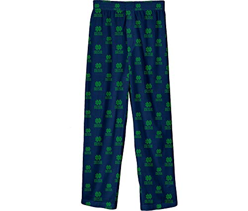 Outerstuff Notre Dame Fighting Irish Youth All Over Team Logo Pajama Pants (18-20)