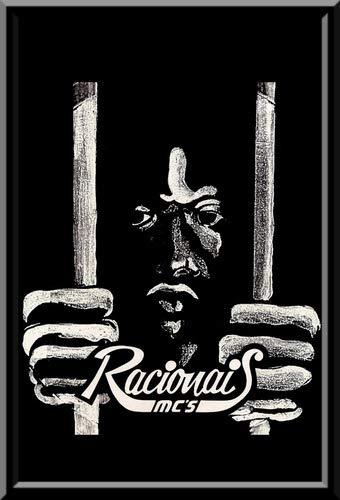 Quadro Rap Racionais Mc's Hip Hop Arte Moldura 42x29cm