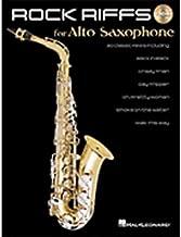 Hal Leonard Rock Riffs for Alto Sax (Book and CD)