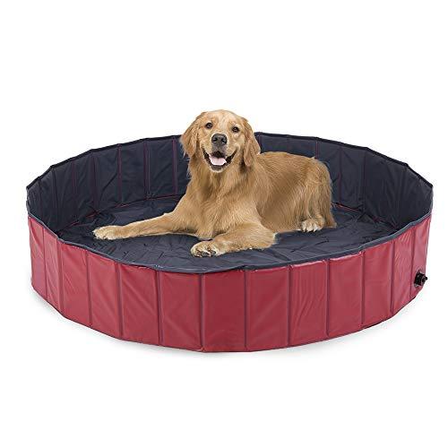 Piscina per cani di taglia piccola e grande  160/120 x 30 cm