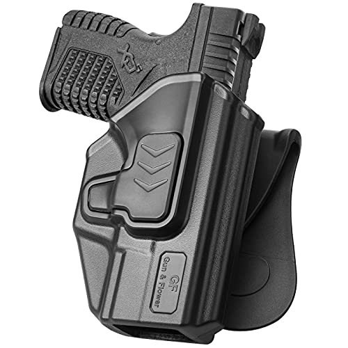 Springfield XD-S Holster, OWB Paddle Holster Fit Springfield...