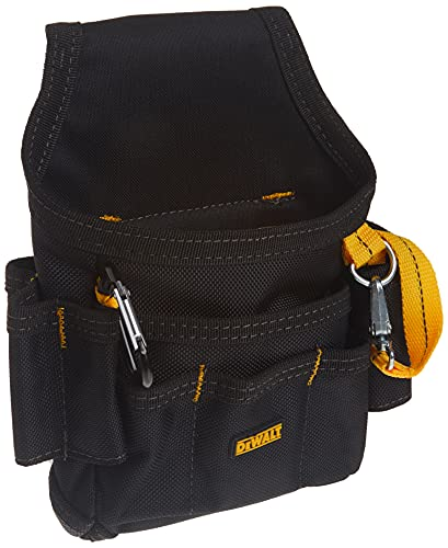 DEWALT DG5103 Small Durable Maintenance and Electrician's Pouch with Pockets for Tools, Flashlight,...