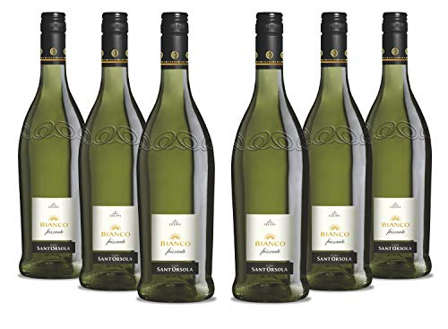 Sant\'Orsola Bianco Frizzante Schaumwein NV trocken (6 x 750 ml)
