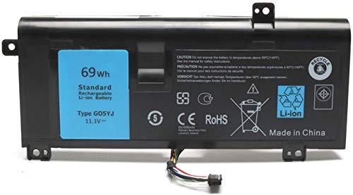 ASKC 69WH G05YJ Laptop Baterías para DELL Alienware 14 A14 M14X R3...