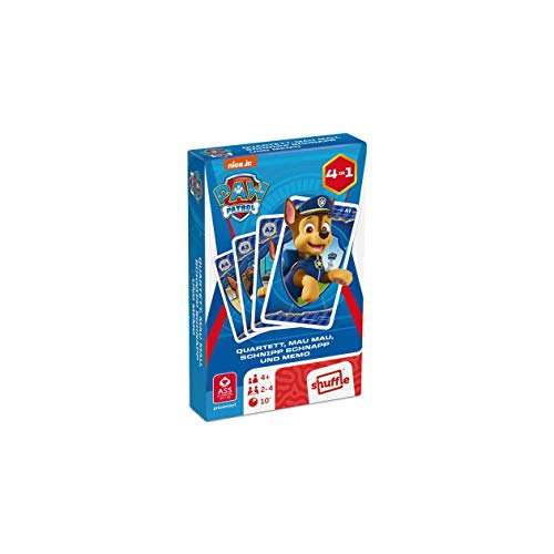 ASS Altenburger 22583134 - Paw Patrol - Quartett, Kartenspiel