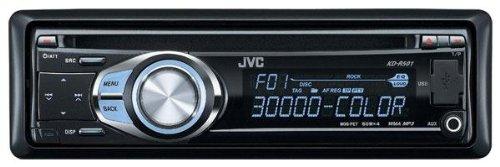 JVC KD-R 501 CD-MP3-Tuner (Front AUX, USB, Vario Colour) schwarz
