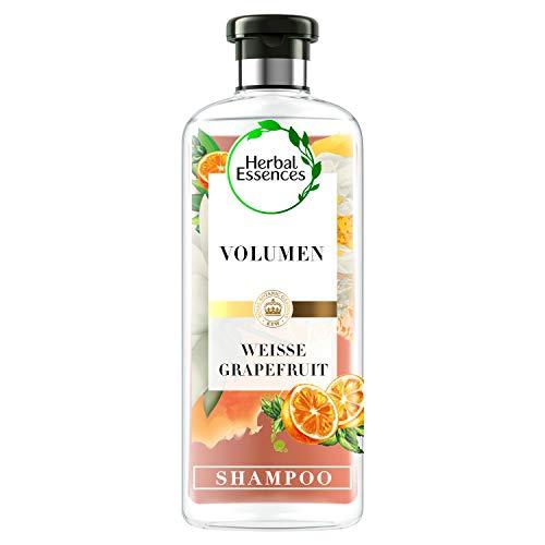 Herbal Essences PURE:renew Weiße Grapefruit & Mosa Minze Volumen Shampoo, 250 ml, Shampoo Damen, Haarpflege, Shampoo Volumen, Minze Shampoo, Grapefruit Shampoo, Haarpflege Volumen