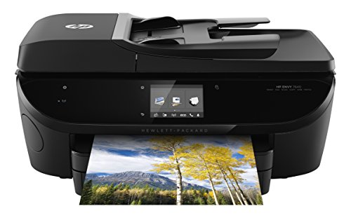 HP Envy 7640 e-All-in-One Drucker, 8,9 cm Touchscreen + Fotopapierfach
