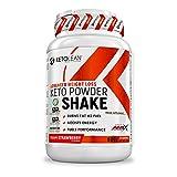 AMIX Nutrition | KetoLean | Keto goBHB Powder Shake | Proteína en Polvo | Sabor Fresa | 600 g | Especial para Deportistas | Recuperador Muscular | Dietas Keto | Acelerador del Metabolismo