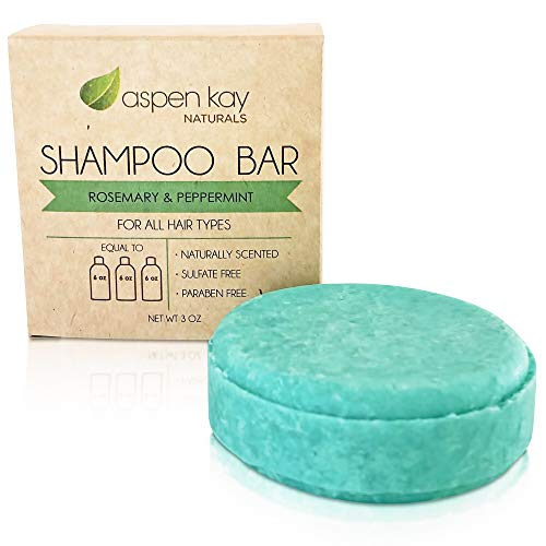 Solid Shampoo Bar, Made With Natural & Organic Ingredients, Sulfate-Free, Cruelty-Free & Vegan 3...