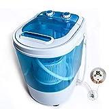 Display4top Portable Charge supérieure 3.2kg Bleu machine à laver - machines à...