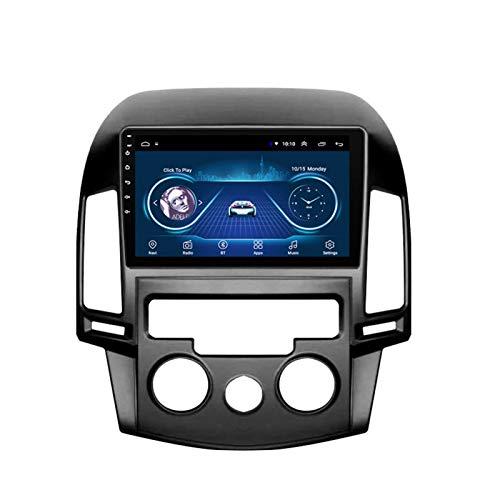 Dscam Car Stereo Android 9.1 Car Radio de navegación GPS para Hyundai i30 2006-2011 9 Pulgada Pantalla LCD Táctil USB WLAN 4.0 Bluetooth Llamadas Manos Libres,1G+16G-Quad-Core