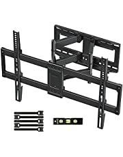 """MOUNTUP TV Wall Mount, Full Motion TV Mount Swivel and Tilt for 42-70 Inch Flat Screen/Curved TVs, Articulating Wall Mount TV Bracket with Max VESA 600x400mm, Holds up to 100lbs, Fits 12"""" 16"""" Studs"""