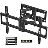 MOUNTUP TV Wall Mount, Full Motion TV Mount Swivel and Tilt for 42-70 Inch Flat Screen/Curved TVs, Articulating Wall Mount TV Bracket with Max VESA 600x400mm, Holds up to 100lbs, Fits 12