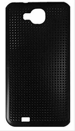 Primux PTCOV43 - Funda rígida para el telefono PTM4043B, rejilla protectora de impactos, color negro