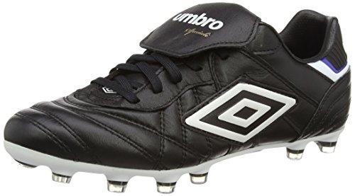 Umbro Speciali Eternal Pro Hg, Herren Fußballschuhe, Schwarz (Dju-Black/White/Clematis Blue), 43 EU