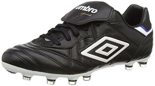 Umbro SPECIALI ETERNAL PRO HG Zapatos de Fútbol para Hombre, negro - Black (DJU), 7 UK (41 EU)