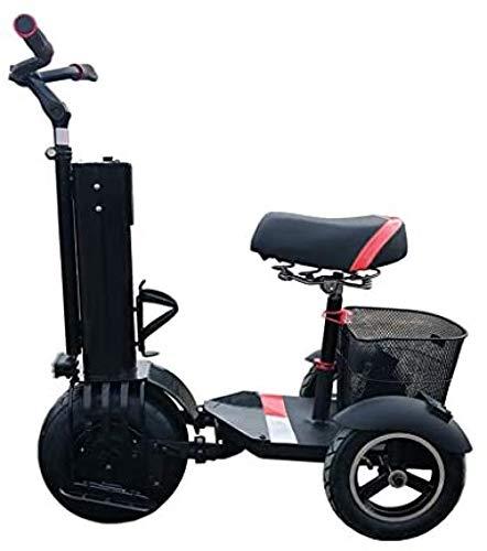 Scooter Eléctrico 2 En 1, Patinete Eléctrico para Adultos, Monociclo De 500...