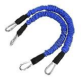 Shipenophy Entrenador de Saltos Material de látex Natural Ejercitador de Rebote Durable, Forma del Cuerpo, tracción de Fuerza Muscular(Blue)