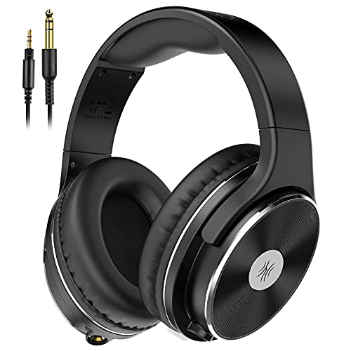 OneOdio Hi-Res Over Ear Headphones Wired, 50mm Speaker, 1/4 inch 6.35mm...