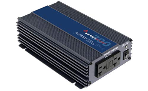 Samlex PST-300-24 PST Series Pure Sine Wave DC-AC Power Inverter, 300W Continuos Power Output, 500W Surge Power Output, Low interference Wide operating DC input range21.0 - 33.0 VDC