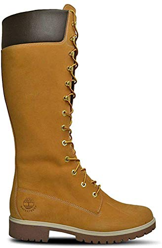 Timberland Woms Prem 14 Inch Wheat Womens Boots Size 7 US