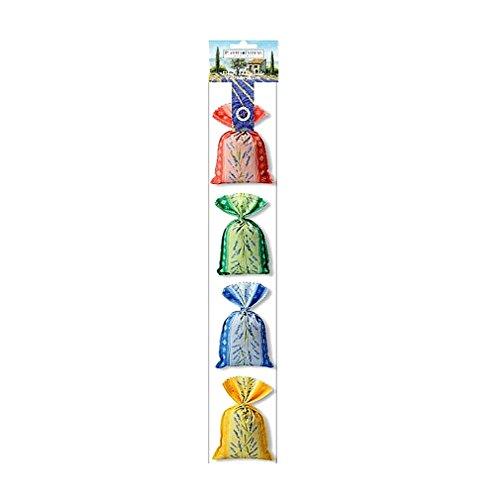 Souvenirs de France - 4 Sachets de Fleurs de Lavande de Provence 4 x 20g