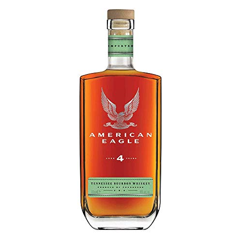 American Eagle 4 Year Old Tennessee Bourbon Whiskey 0,7l - 40{aa3a5ce46456c53655d74f9211f68dea00a09a7700188ba69941b2179c3a5efc}