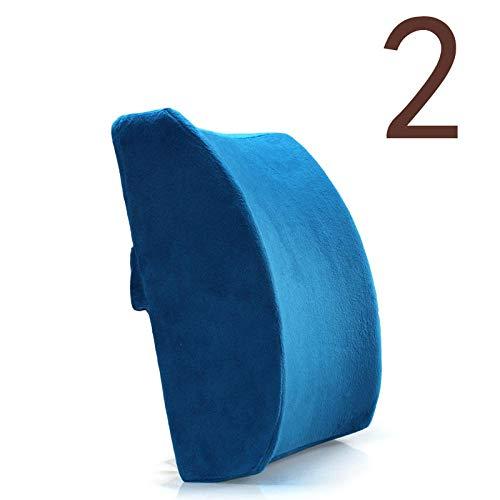 Saixnyz reposacabezas del coche almohada lumbar memoria algodón Hyundai Car Home Office manejo ergonómico cómodo