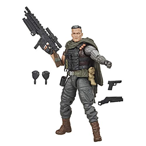 Marvel Hasbro Legends Series X-Men 15 cm große Cable Action-Figur, mit 5 Accessoires, ab 14 Jahren