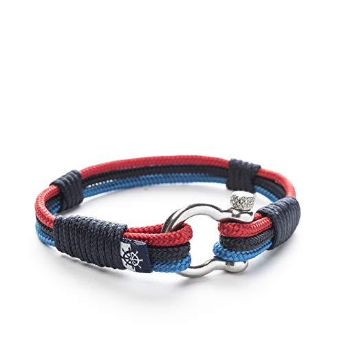 Nautical Rope Bracelet M POWER PERFORMANCE 18cm / 7.0inch