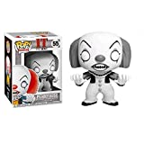 Funko Pop Movie : Stephen King'S It - Pennywise (Monochrome Version) 3.75inch Vinyl Gift for Horror ...