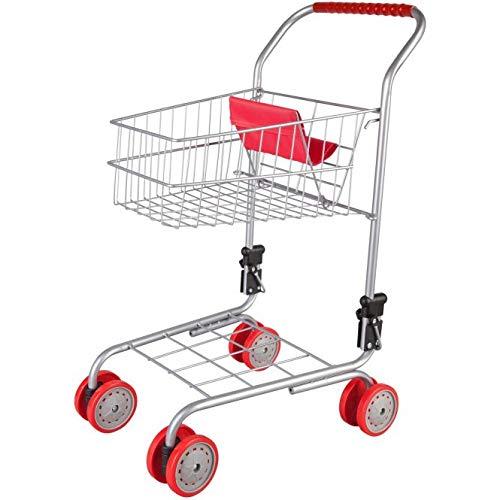 Besttoy - Einkaufswagen für Puppen-Muttis - rot