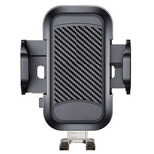 OVBBESS Soporte para teléfono de coche, rotación de 360 ° para rejilla de ventilación de coche con clip de salida de aire, soportes de coche