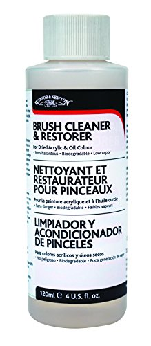 small Winsor & Newton Brush Cleaner & Restore – 4 oz.Bottle