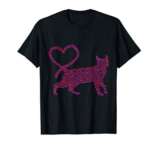 Cute Cat Lover Hauskatze Shirt I Tee Geschenk Idee