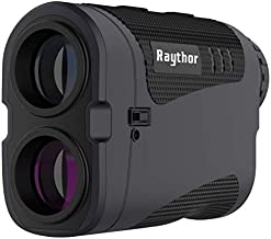 Raythor Pro GEN S2 Laser Rangefinder for Golf & Hunting Range Finder with Physical Slope Switch, High-Precision Flag Pole Locking Vibration, Continuous Scan, Rechargeable Battery, Tournament Legal