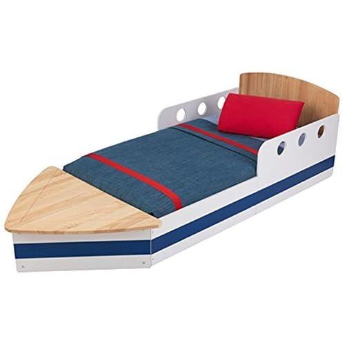 best cheap a9a55 12249 KidKraft 76253 Boat Kids, Toddler, Children's Bed - bedroom ...