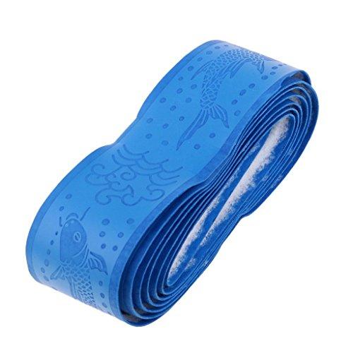 Inzopo - Cinta de agarre para raqueta de tenis, color azul, como se describe