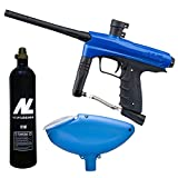 Smart Parts Kids Paintball Markierer Cal.50 inkl. Loader und 12oz CO2 Tank - Blue Falcon
