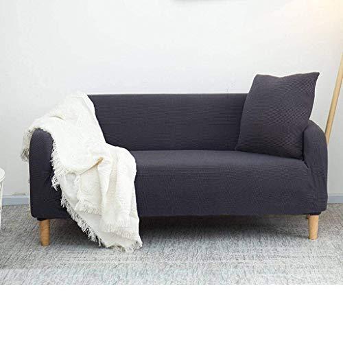 Funda de sofá Simple Todo Incluido, Escudo de Muebles con Estilo de Fuerza elástica para ensamblar sofá Durable-M código 145-185cm-K