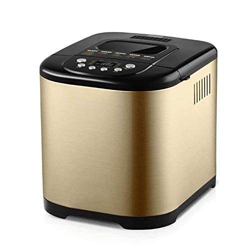 Review Of HGFDSA Bread Machine Compact Fast Breadmaker Household Fully Automatic Knead Dough Multi-F...