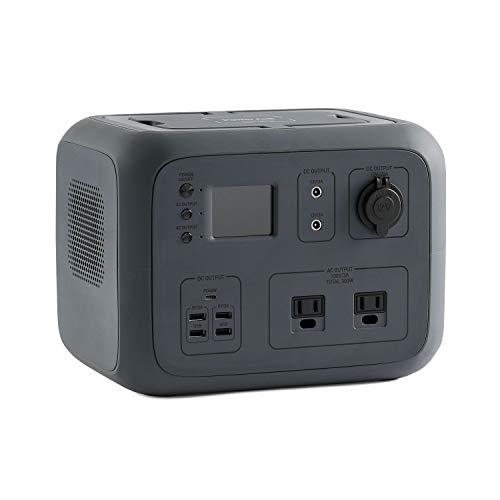 ポータブル電源 PowerArQ2 チャコール (500Wh/45,000mAh/11.1V/正弦波 100V 日本仕様 蓄電池) 正規保証2年
