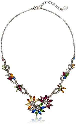 Ben-Amun Multi Color Collage Collection New York Fashion Jewelry Earrings and Necklace