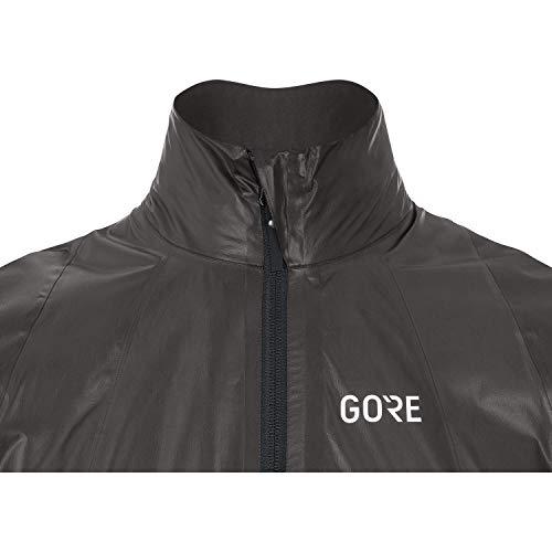 GORE WEAR Men's Race Cycling Jacket, GORE-TEX SHAKEDRY, XL, Black