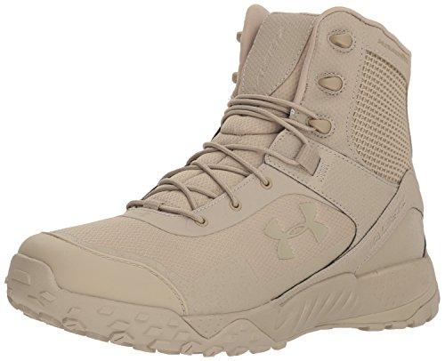 Under Armour mens Valsetz Rts 1.5 Military and Tactical Boot, Desert Sand (201 Desert Sand, 10.5 US