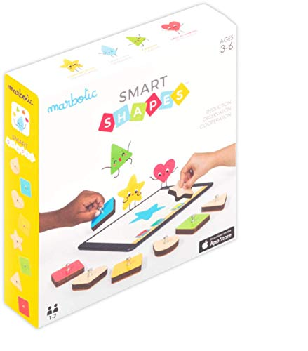 Marbotic Smart Shapes - The First multiplayer Game for iPad to Teach Kids Cooperation and Communication and Foster Creativity, Observation and Deduction! Perfect for 3-6 Years Old …