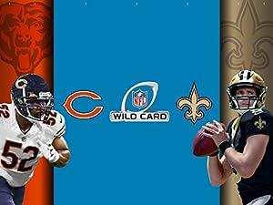 NFL Wild Card Weekend: Chicago Bears vs. New Orleans Saints