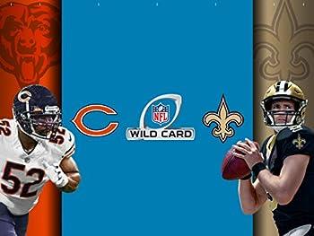 NFL Wild Card Weekend  Chicago Bears vs New Orleans Saints