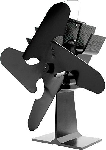 Valiant FIR360 - Ventilador de caldera (anodizado, 230 x 200 x 100 mm), acabado satinado, color negro